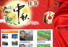 中秋节企业活动促销网页网站案例