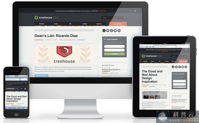 响应式网站设计发展趋势