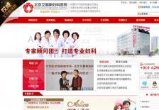 北京妇科医院网站建设